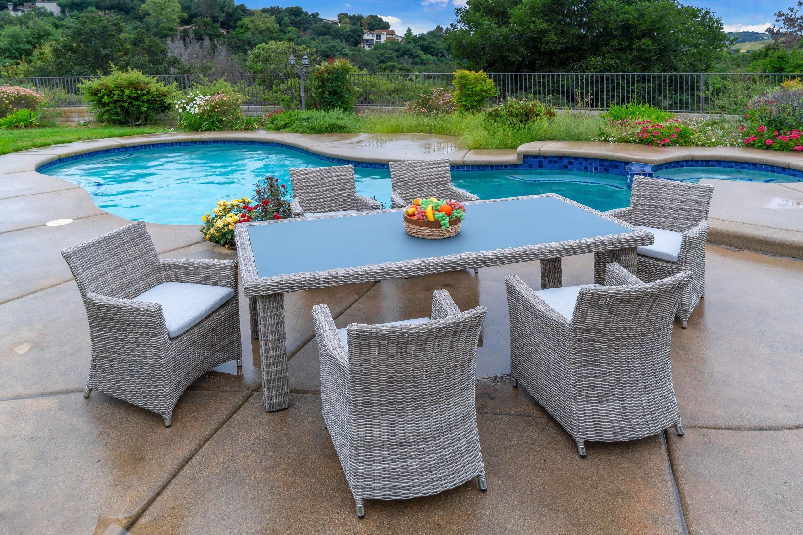 Outdoor Patio Furniture Wicker Resin