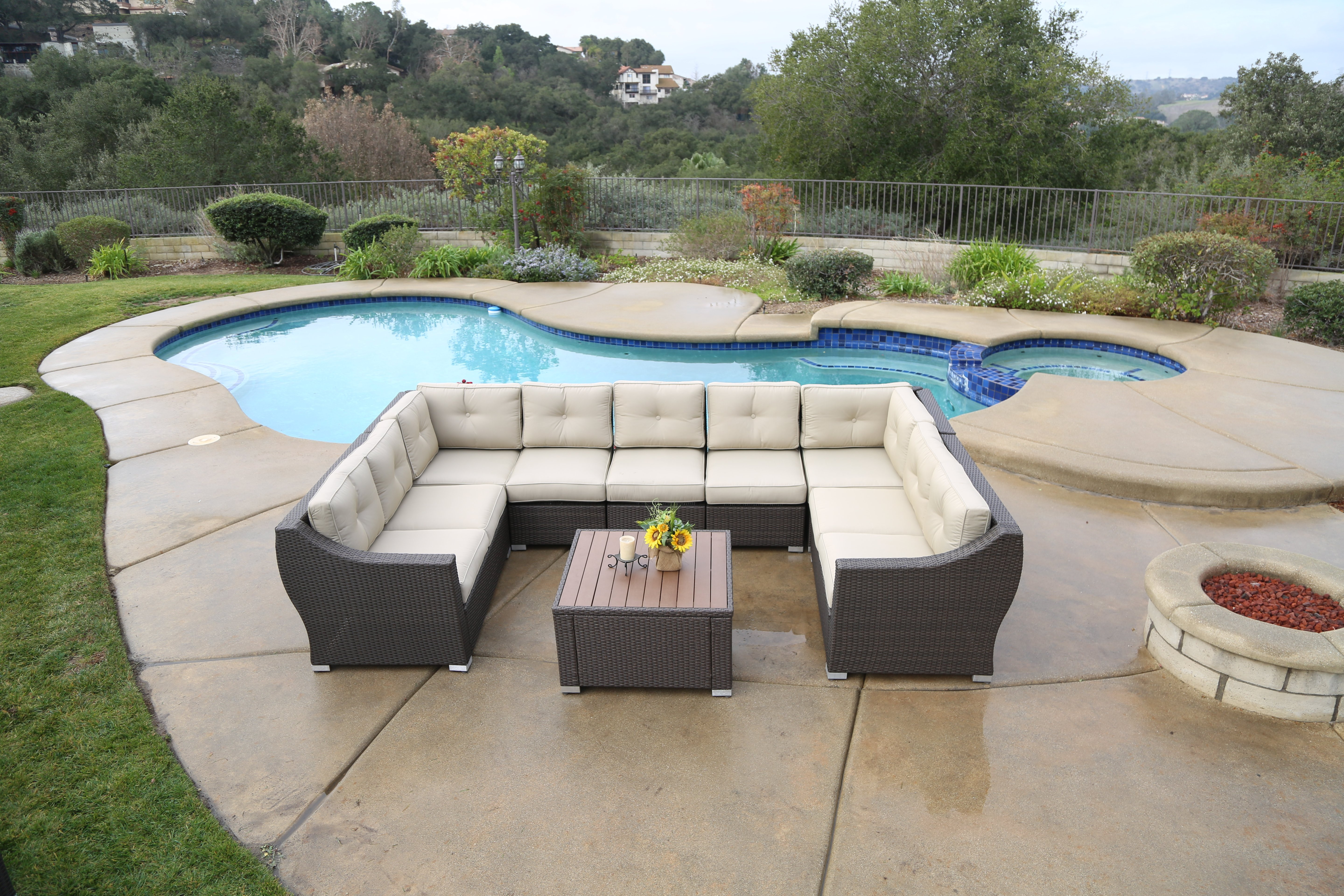 South Beach Sectional Sets